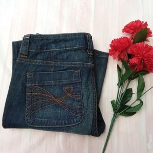 BOGO 50% OFF Sz 2 Denim Jean Dark Wash Boot Cut